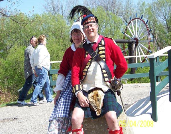 men and women netherlands old dress