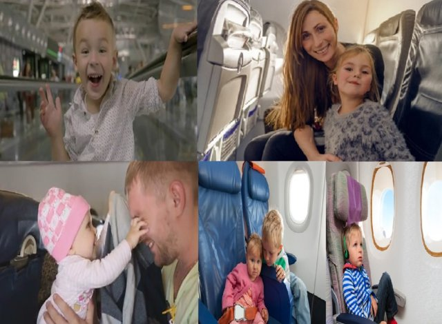 Travel-and-Airport-Flying-with-Babies-and-kids Urlaub und Flugreisen mit den Kindern